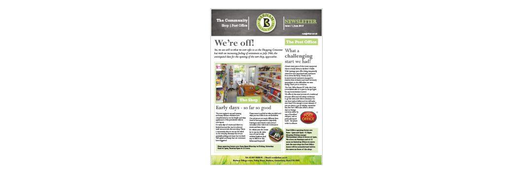 Barham Newsletter Design