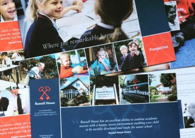 Russell House Prospectus Design