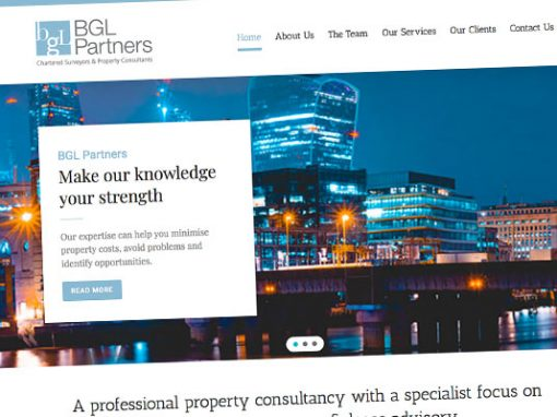BGL Partners Website Design