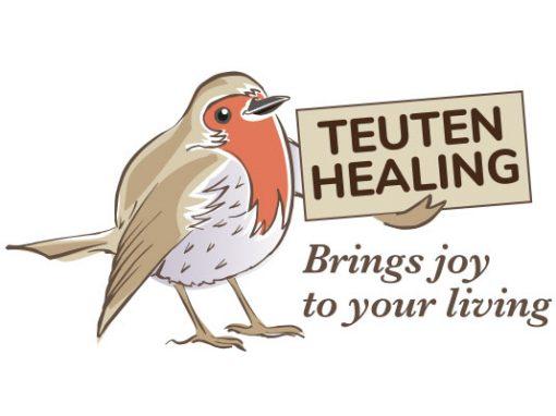 Teuten Healing Logo Design